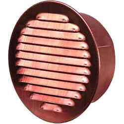 Large Round Soffit Vent With Screen (5