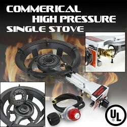 High Pressure Portable Propane Gas Single Stove LPG UL BTU Outdoor Camping BBQ