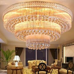 European court style LED crystal ceiling lamps chandeliers Lighting Fixture 0147