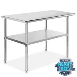 Stainless Steel 24quot; x 48quot; NSF Commercial Kitchen Work Food Prep Table $166.99
