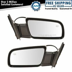 Power Heated Side View Mirrors Folding Left amp; Right Pair Set for Chevy GMC $79.10