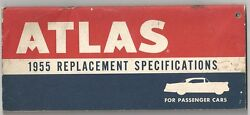 1955 Atlas Replacement Specifications Book Cars $9.99