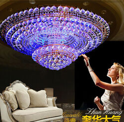 European court style K9 Clear crystal LED ceiling lamps chandeliers lamps #81406