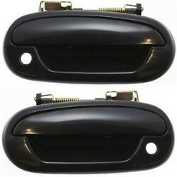 Exterior Door Handle For 97-2003 Ford F-150 97-99 F-250 Set of 2 Front Primed