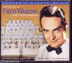 READER'S DIGEST Very Best of FRED WARING & PENNSYLVANIANS Collector's 3 CD Set $44.98