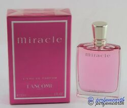 Miracle by Lancome 1.0 oz 30 ml Eau De Perfume Spray For Women New In Box $36.40