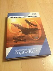 ROYAL AIR FORCE. 90 YEARS. BRITIAN'S AVIATION HERITAGE. 2008. DUSTCOVER