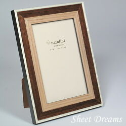 Natalini Hand Made in Italy Wood Marquetry Photo Picture Frame New  $34.99