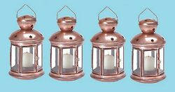 Bronze Colonial Style Candle Lantern 9 12