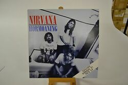 NIRVANA Hormoaning LP MINT SUPER RARE ORIGINAL AUSTRALIA IMPORT TOUR COLOR VINYL