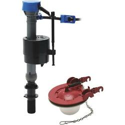 5-Fluidmaster Fill Valve & Adjustable Flapper Toilet Stool Repair Kit 400CAR3P5