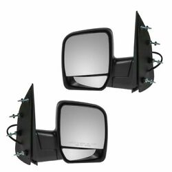 Power Side View Mirrors Folding Left & Right Pair Set for 02-08 Econoline Van $77.68