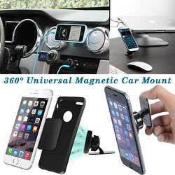360° Universal Stick On Dashboard Magnetic Car Mount Holder Cradle for Phone GPS $7.48