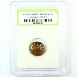 Blowout! Slabbed Ancient Greek Coins. c.400 B.C. - 300 A.D. FREE S