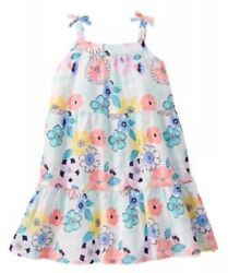 Gymboree Tropical Breeze Floral Print Sleeveless Dress Girls Nwt 3t