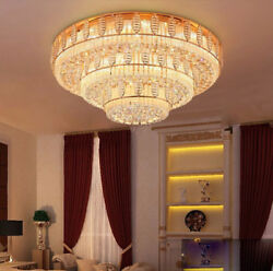 Modern luxury Crystal Ceiling Fixture Lamps Chandelier LED Lighting Lights #0149
