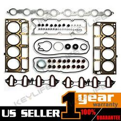MLS Head Gasket Kit Fits Chevrolet For Buick For Cadillac 02-11 5.3L 4.8L V8 OHV