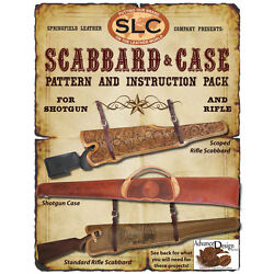 Springfield Leather Company Scabbard & Case Pattern and Instructions Pack