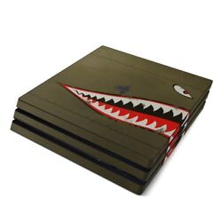 Sony PS4 Pro Console Skin Kit - USAF Shark by US Air Force - Sticker Decal