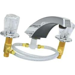 3 Pk U S Hardware Mobile Motor Home RV Chrome Bathtub Faucet P-030N