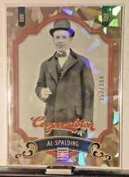 2012 COOPERSTOWN CRYSTAL COLLECTION PARALLEL ##x27;d 299 AL SPALDING WM12 $4.99
