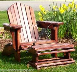 ADIRONDACK CHAIR W FOOT REST Paper Plans EASY DIY PATTERNS Build It Like Expert