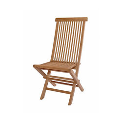 Anderson Teak Patio Lawn Garden Furniture Classic Folding Chair