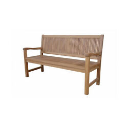 Anderson Teak Patio Lawn Garden Furniture Chester 3-Seater Bench