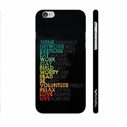 Mantras for life Designer Back Cover For Apple iPhone 6 Plus 6s PlusFr