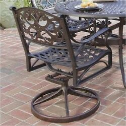 NEW Bowery Hill 7 Piece Metal Patio Dining Set In Bronze Outdoor Furniture Deck