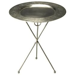 Butler Dahlia Folding Metal Accent Table Metalworks - 2557025