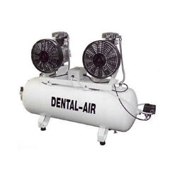 Silentaire DA-2-100-37 Tandem Dental Air Compressor with Dryer
