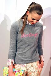 $398 Hugo Guiness for J Crew Collection Cashmere Darling Sweater; L