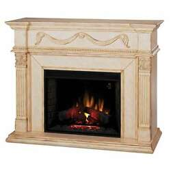 Classic Flame Gossamer Electric Fireplace Antique Ivory - 28WM184-T408