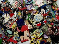 Disney Pin Lot 100 pins  Fastest Shipping to USA 100% TRADABLE $47.26