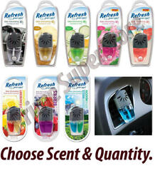 Refresh Your Car AC Vent Clip Air Freshener Scent Oil Wick Eliminates Odor Truck $8.24