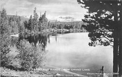 C 1910 Colorado Estes Park Rabbit Ear Range Grand Lake Curr postcard 12399 $8.99