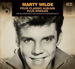 Marty Wilde FOUR (4) CLASSIC ALBUMS + SINGLES Showcase VERSATILE New Sealed 4 CD