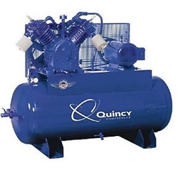 Quincy QT MAX 15-HP 120-Gallon Two-Stage Air Compressor (230V 3-Phase) $5,534.99