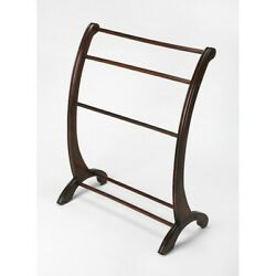 Butler Nathaniel Plantation Cherry Blanket Stand Dark Brown - 3804024