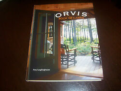 ORVIS BOOK OF CABINS Log Home Build Cabin Cabins House Project Construction Book