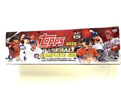 2016 TOPPS BASEBALL COMPLETE 700 CARD FACTORY SET HOBBY EDITION $84.95