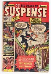 SUSPENSE #6 - 1951 pre-Code horror comic - 2 stories by Bill Everett - very good