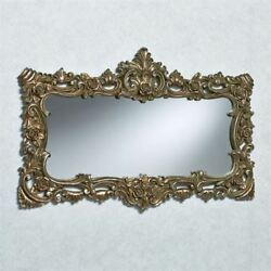 Ashby Rectangular Wall Mirror Silver with Gold $104.99