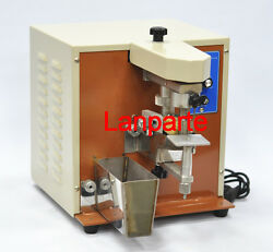 Electric Oil Coating Machine Leather Craft Tool For Edge Dyeing With Extras 220V