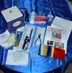Learn STAINED GLASS with simple Beginner KIT: Gryphon Grinder Tools Instructions $205.85