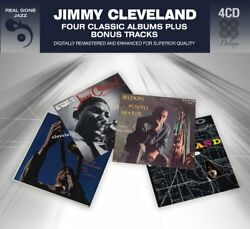 Jimmy Cleveland FOUR (4) CLASSIC ALBUMS + BONUS Introducing A MAP OF New 4 CD