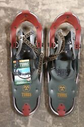 TUBBS ELEVATION 25 X 8quot; WOMEN SNOWSHOES ALUMINUM 120 200 lbs MADE IN USA NEW Ofr $169.69