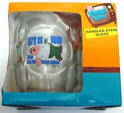 99224 FAMILY GUY PETER GRIFFIN LET#x27;S GO DRINK.. ANYMORE GLASS STEIN NOVELTY GIFT AU $9.99