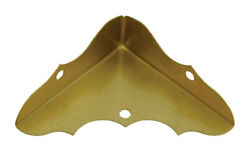 National Hardware  Outside  Decorative Corner Brace  58 x 1-34  Solid Brass